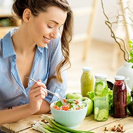 Egyéni étrend dietetikusok által összeállítva